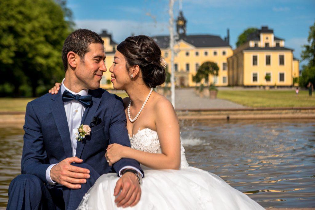 Wedding photo session at Ulriksdal Slott